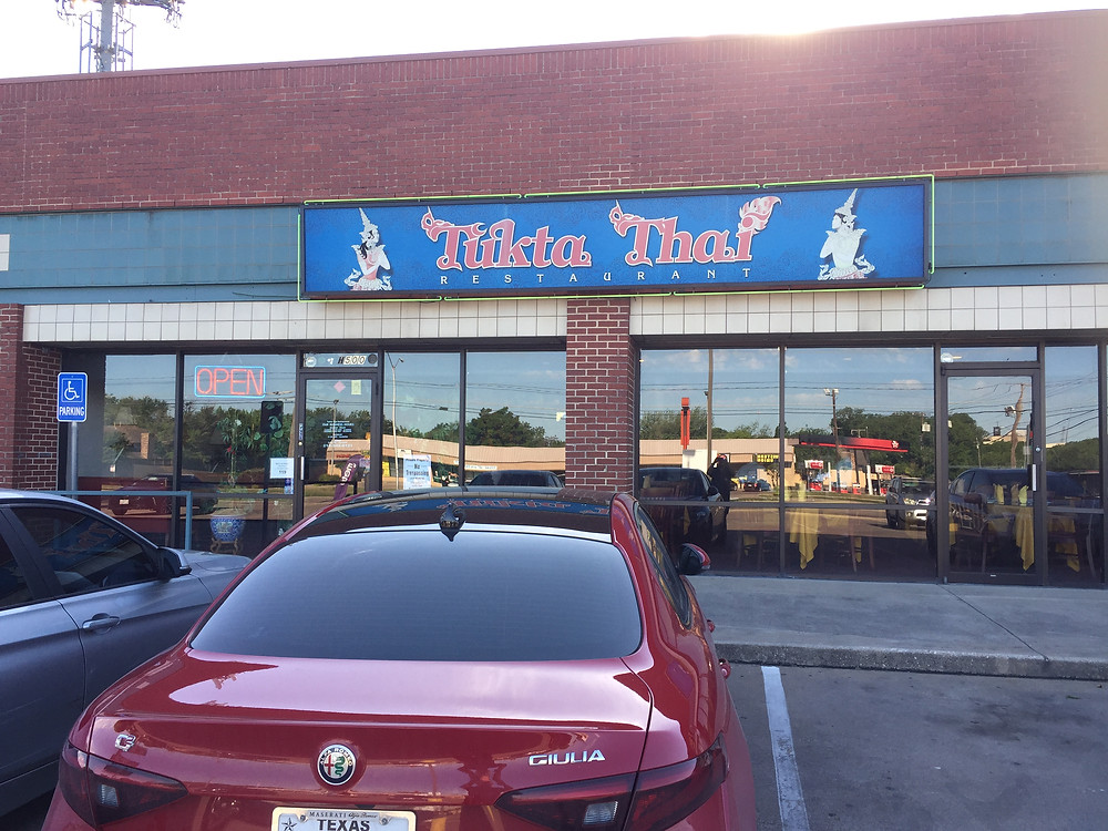 Tukta Thai -- no pretentions