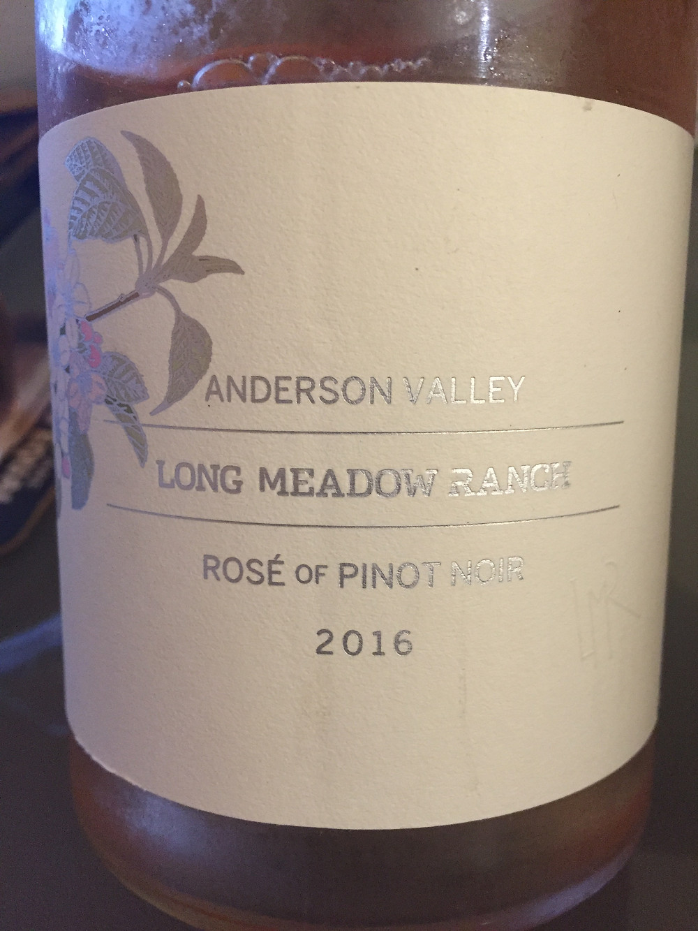 2016 Long Meadow Ranch Rosé of Pinot Noir, Anderson Valley, CA
