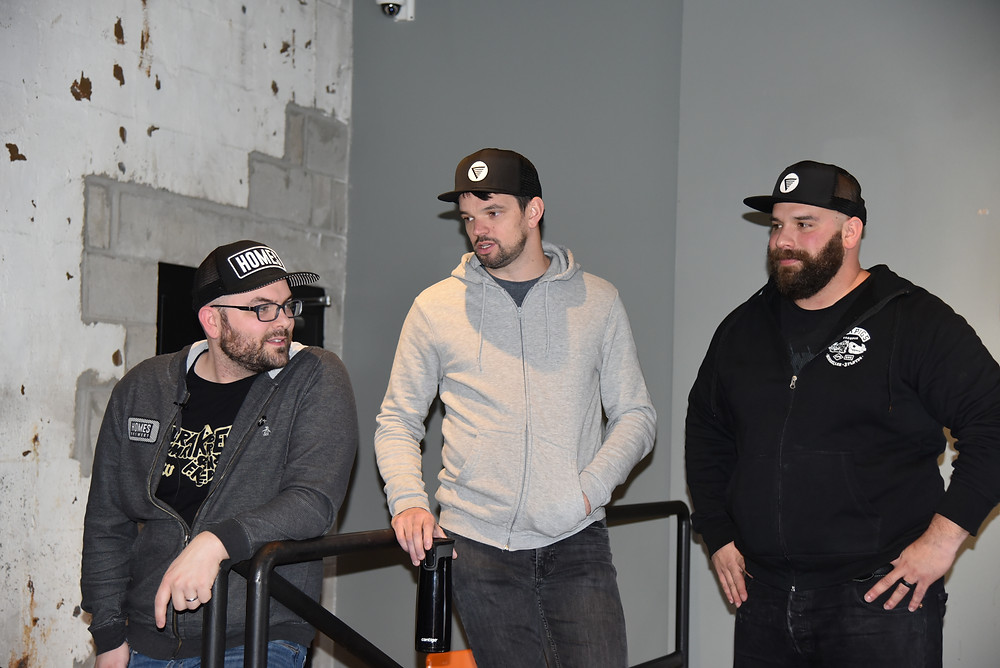 The guys behind HOMES Brewery