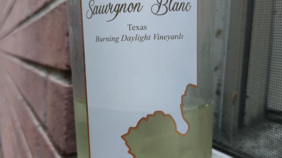 WINE REVIEW: Lost Oak 2020 Sauvignon Blanc 'Burning Daylight Vineyards', Texas ($21)