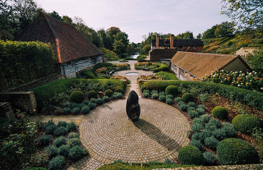 Chocolate box picturesque, Nyetimber Estate, West Sussex. Photo: Nyetimber