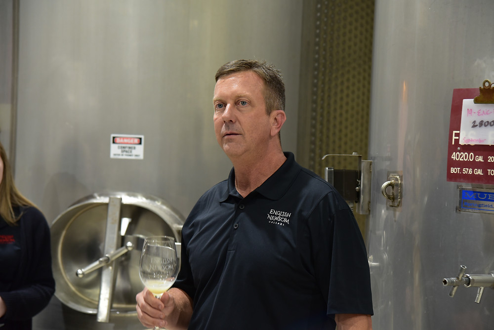 Steve Newsom, co-owner of English Newsom Cellars