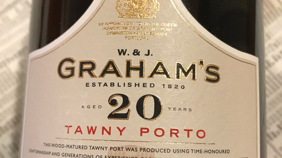 """WINE REVIEW: Graham's """"20 year"""" Tawny Port, Portugal ($65)"""