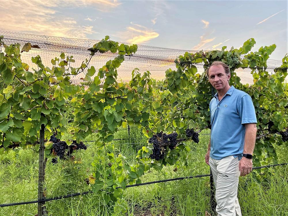 Sergio Cuadra, director of winemaking at Fall Creek Vineyards