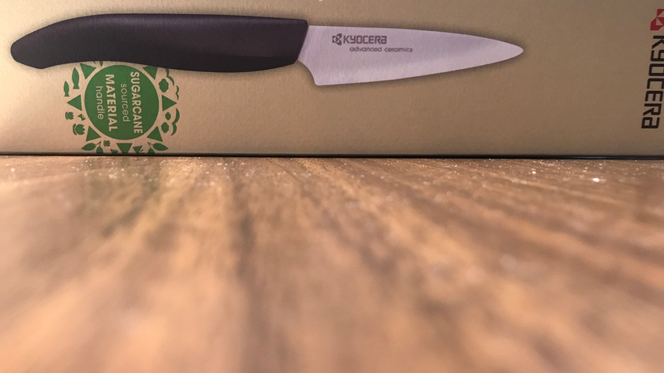 This Ceramic Knife Has a Sweet Handle