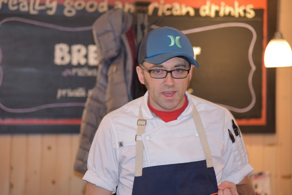Bob Bennett, executive chef of Zingerman's Roadhouse