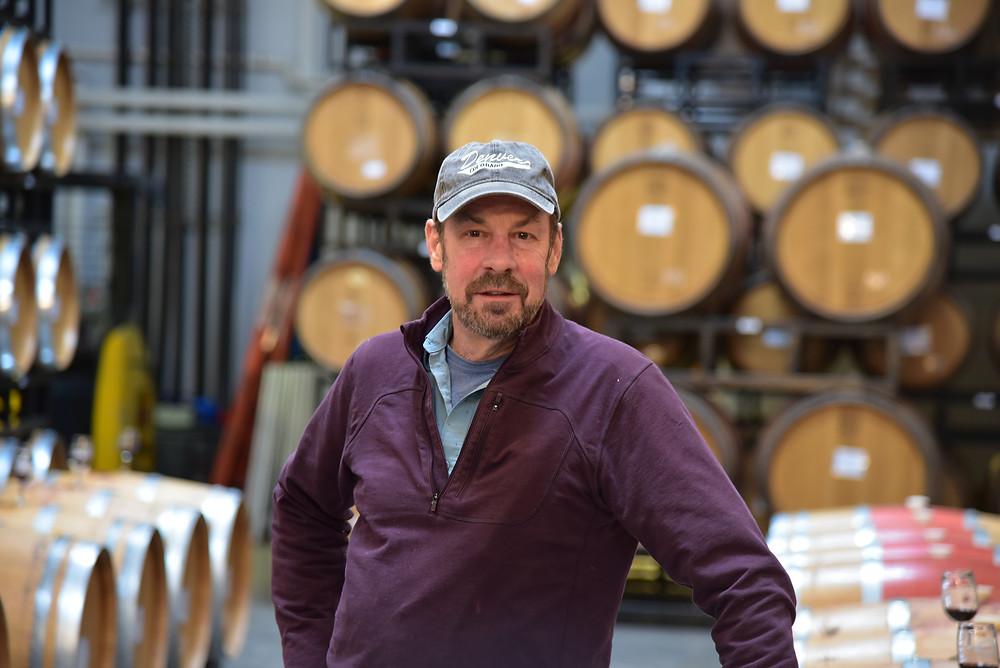 Dave Collins,  Big Cork Vineyards, Viticulturalist and Winemaker