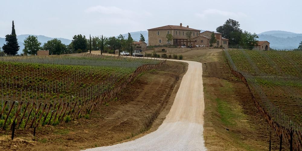 San Giovanni farm and villa
