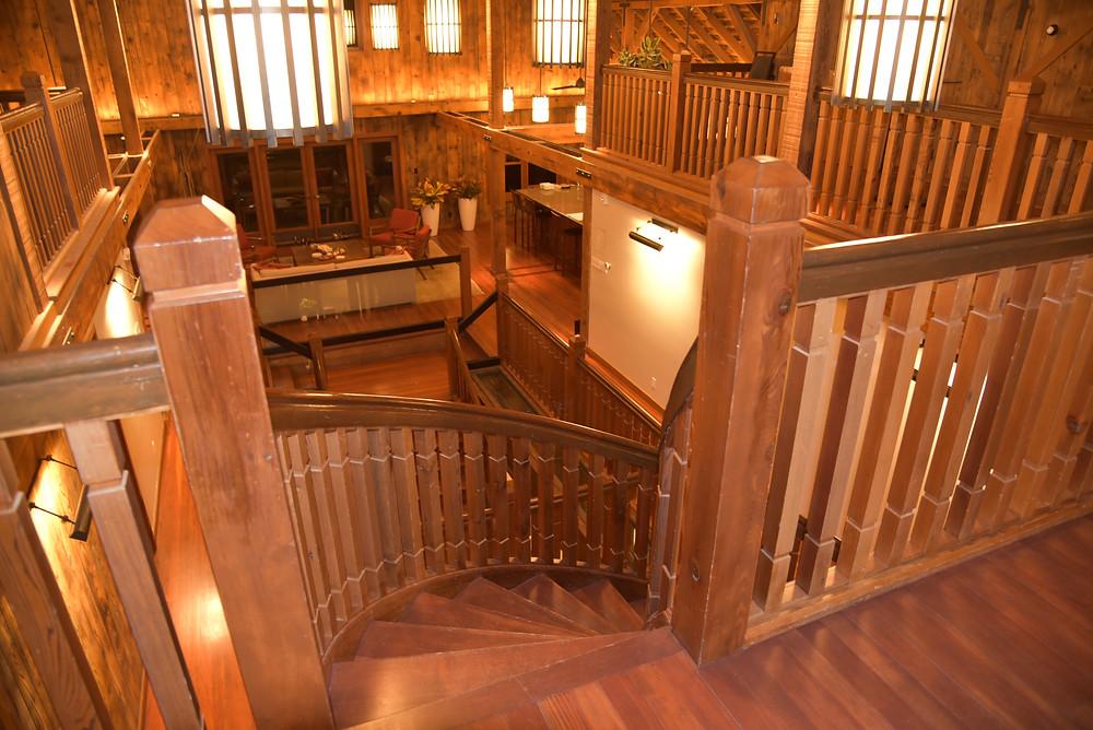 Part Baronial Hall, Part Hunting Lodge, the Visitor Centre at Saralee's Vineyard