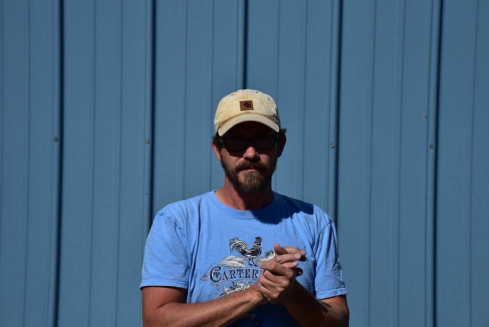 Nelson Carter, farmer, founder or Cartermere Farms