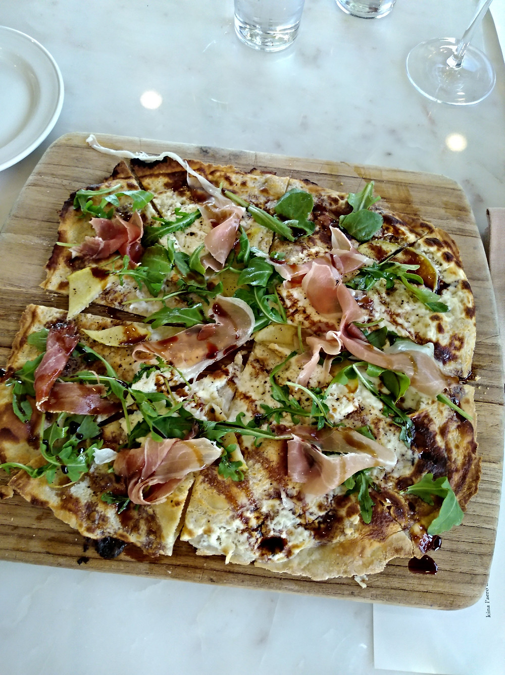 Flammkuchen is German pizza