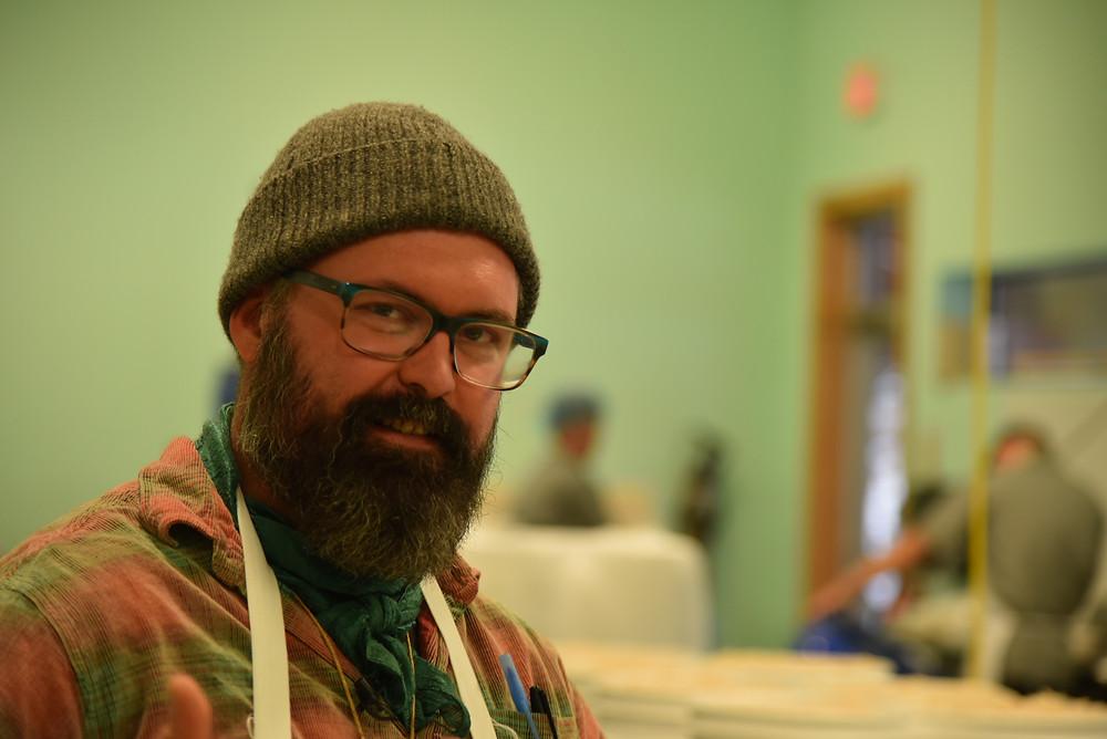 David Klingenberger owner of the Brinery