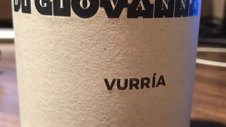WINE REVIEW: Di Giovanna 2019 Vurria, Nero D'Avola, Sicilia, Italy ($22)