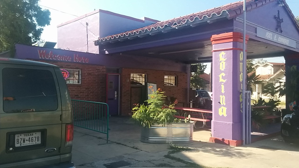 Amaya's Cocina's resemblance to a gas station stems from it having formerly been...a gas station