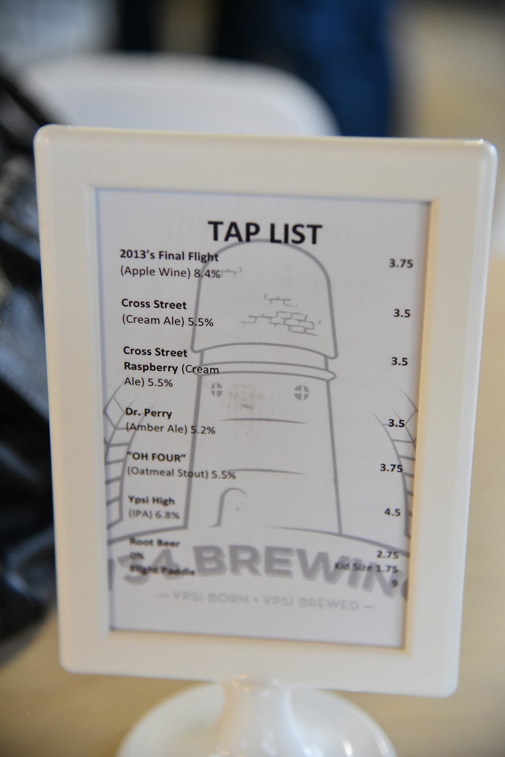 734 Brewing Company tap list