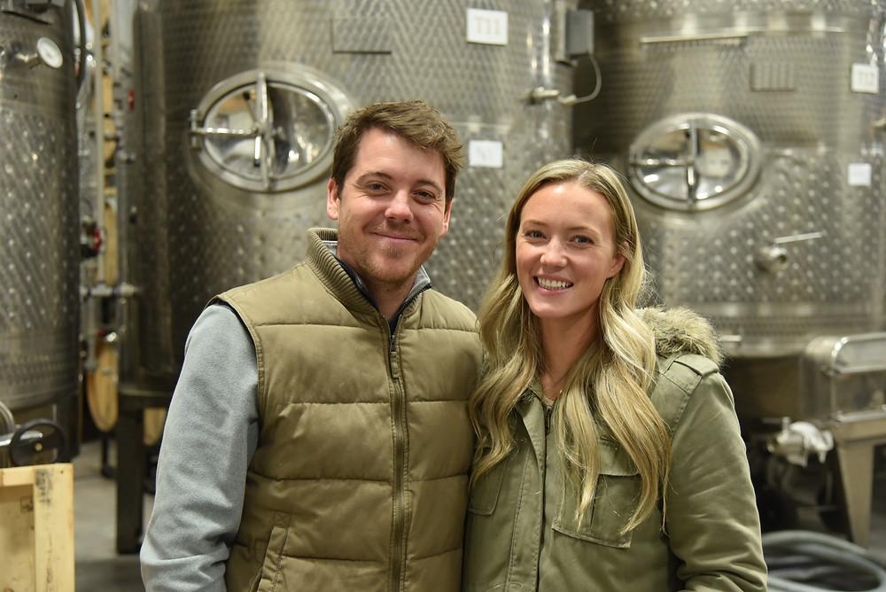 Siblings Drew Baker and Lisa Hinton, Old Westminster Winery