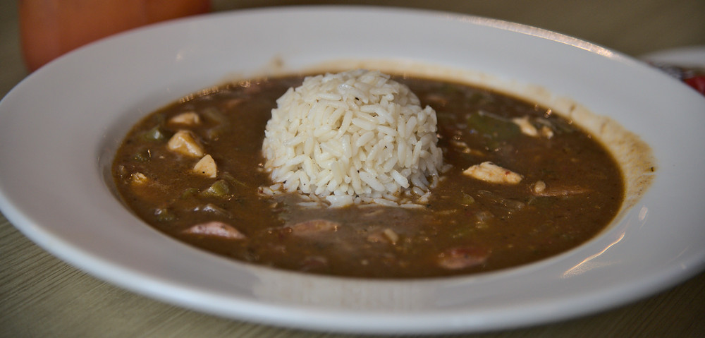 Scratch-Made Gumbo at Razzoo