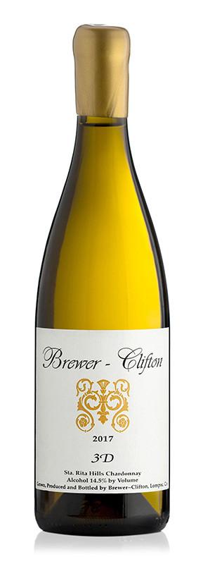 Brewer-Clifton 3D Chardonnay (representative vintage shown)