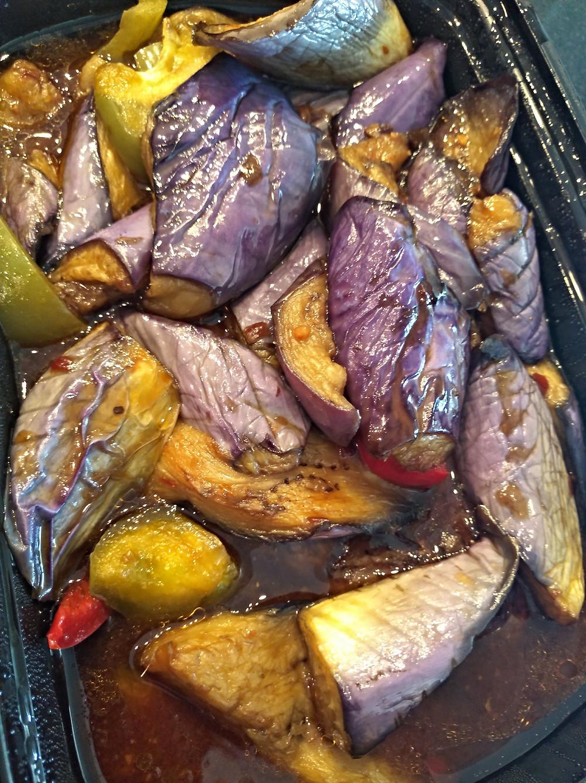 Eggplant and Garlic Sauce