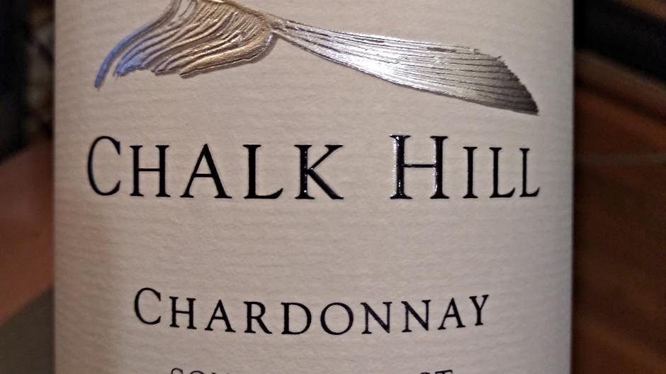 WINE REVIEW: Chalk Hill 2018 Chardonnay, Sonoma Coast, CA ($15/half bottle)