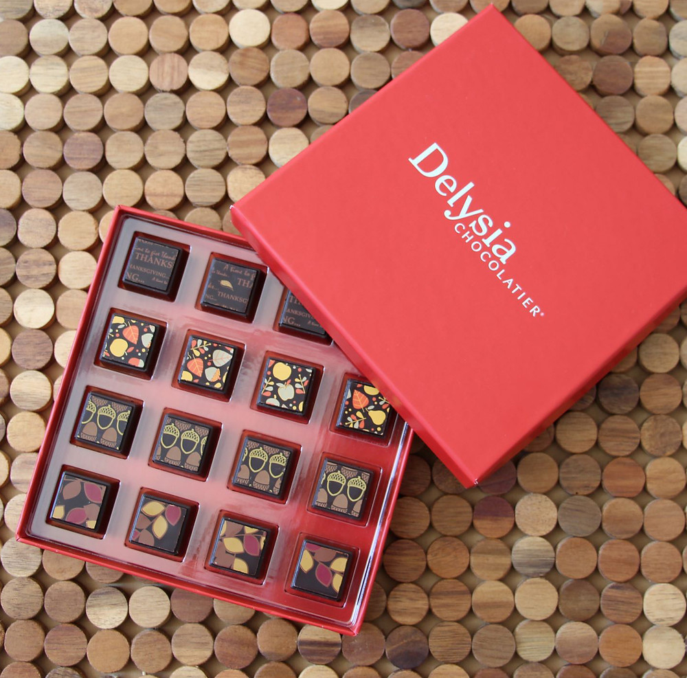 A selection of Delysia's Other Chocolates