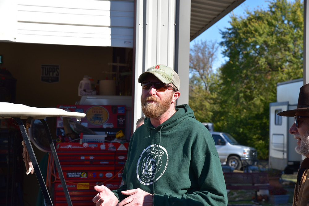 Jeff Bednar, farmer/founder/owner