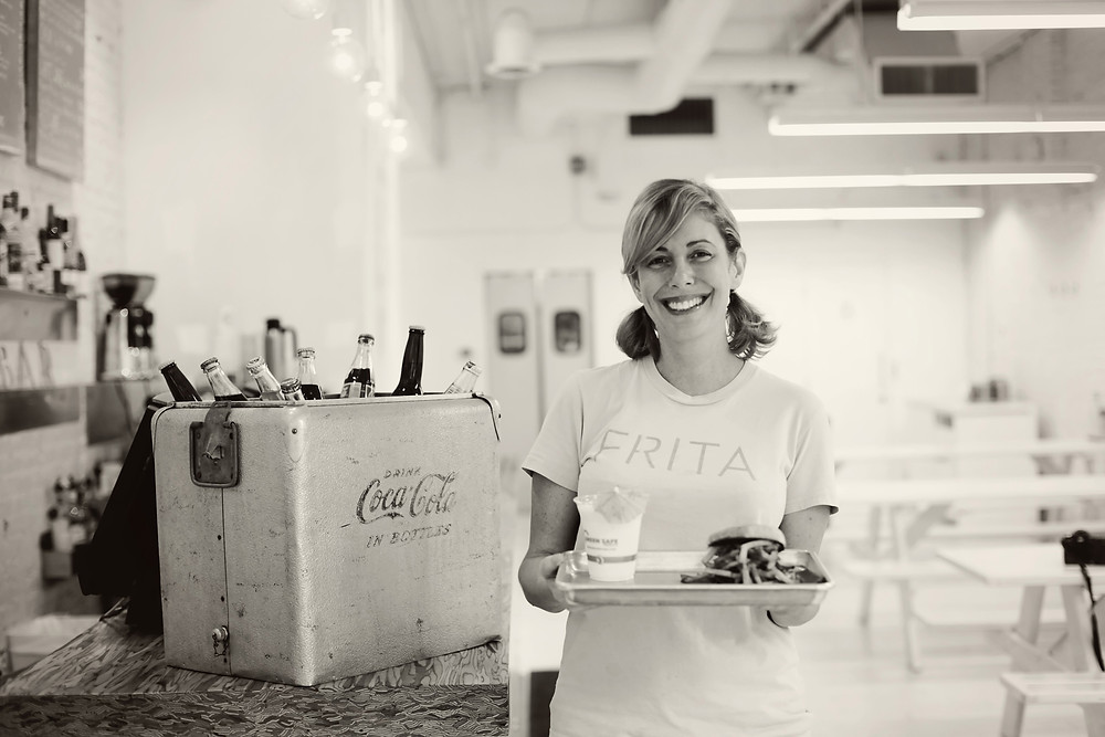 Eve Aronoff, owner of Frita Batidos