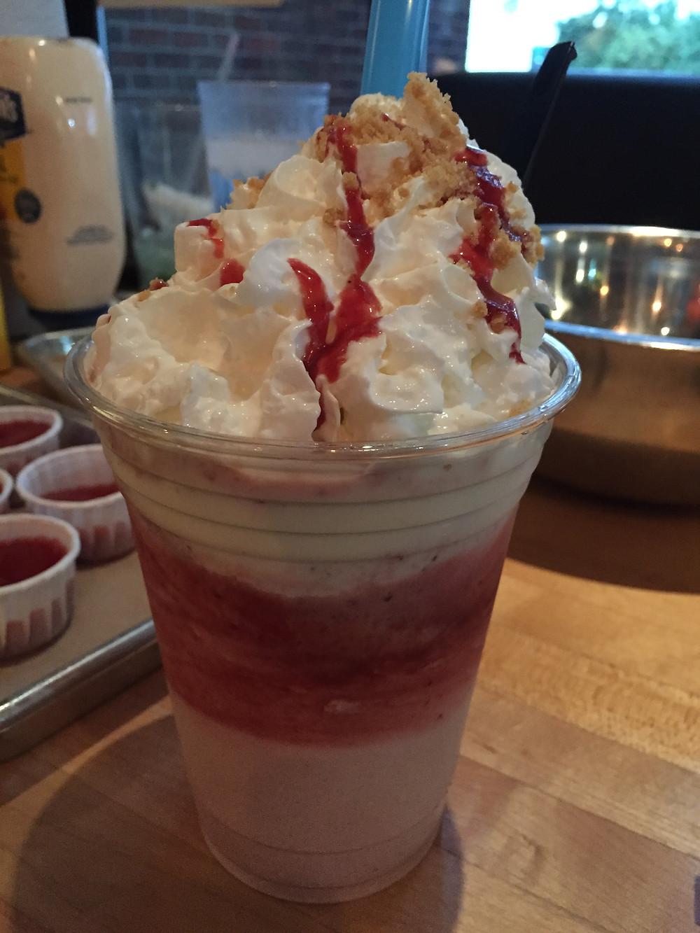 Gratuitous Strawberry Shortcake Shake