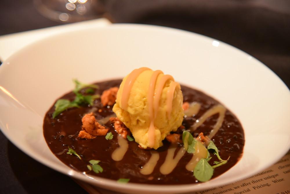 Valrhona Chocolate Black Rice Porridge