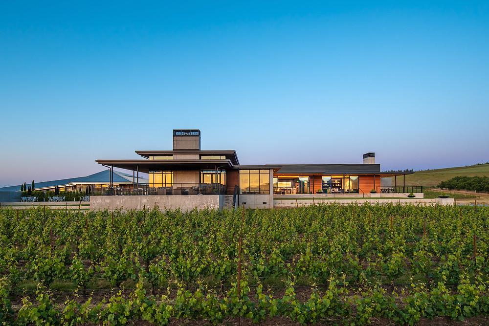 New winery at Ponzi Vineyards
