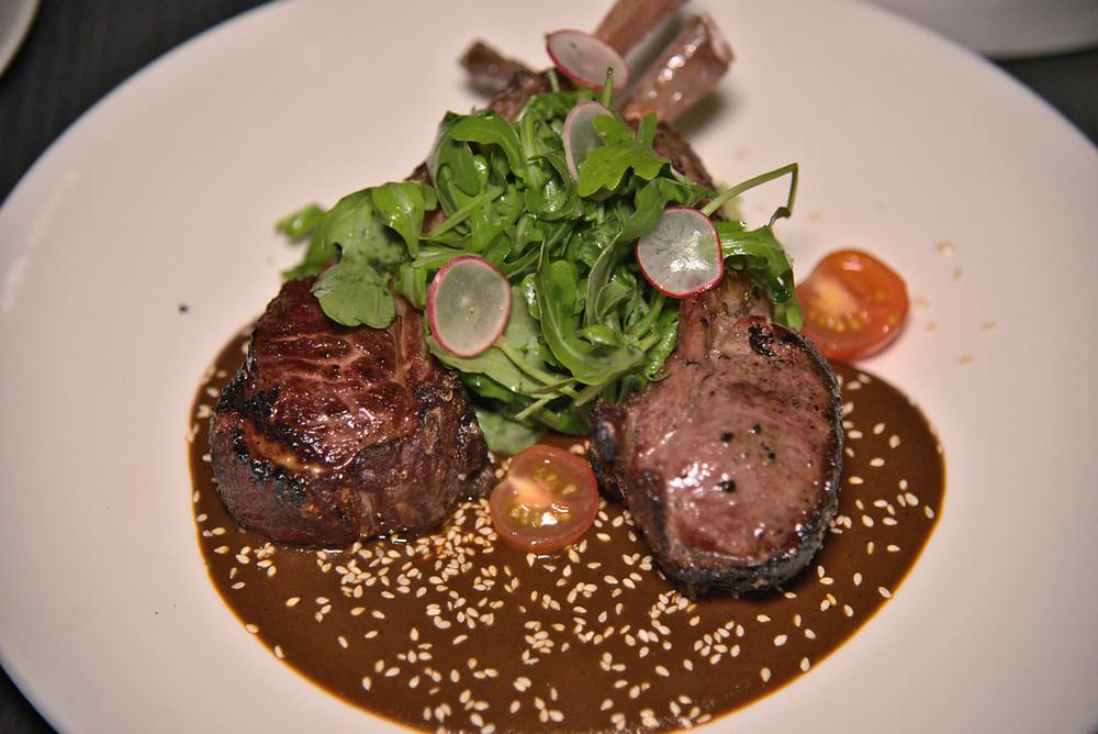 Lamb chops. The simple menu name conceals the intoxicating mole manchamanteles