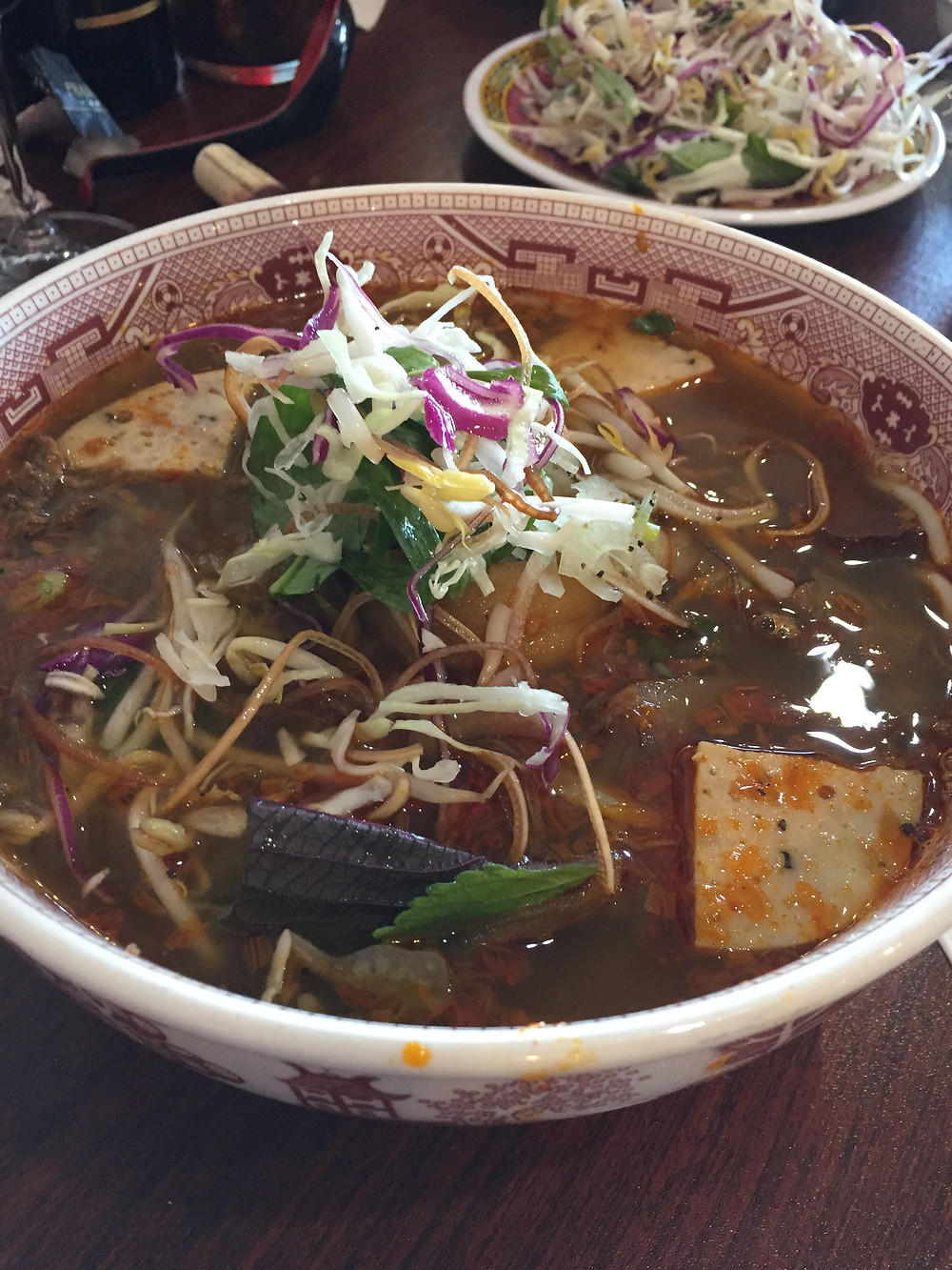 Bún Bò Huê - Beef noodle soup.