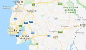 The Alentajo region in Portugal