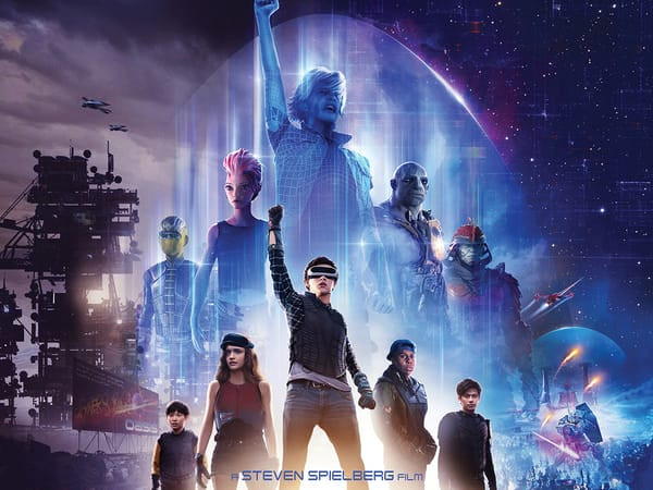 "Ready Player One's five main characters form a gaming clan, calling themselves, ""The High Five."""
