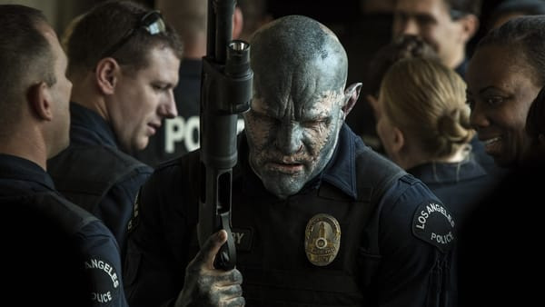 The first orc L.A.P.D. Officer, Nick Jakoby.