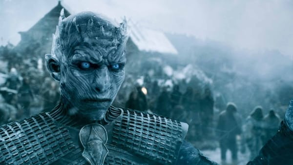 The King of the White Walkers plotting his next move.