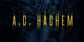 The A.C. Hachem logo from Dawn of Legaia's cover art.