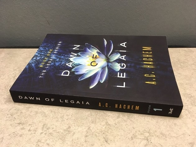 Dawn of Legaia's first edition proof copy.