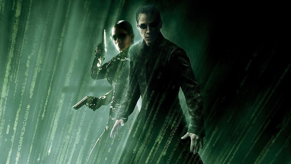 Neo and Trinity of The Matrix