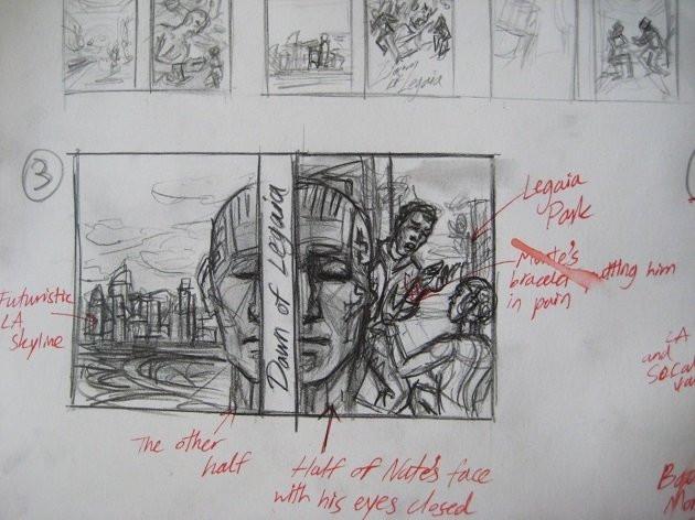 Dawn of Legaia Concept Art Sketch, by Arotin Hartounian.