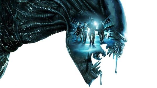 Drooling alien artwork from the Alien: Covenant movie.