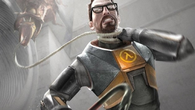 Half Life movie concept art poster.