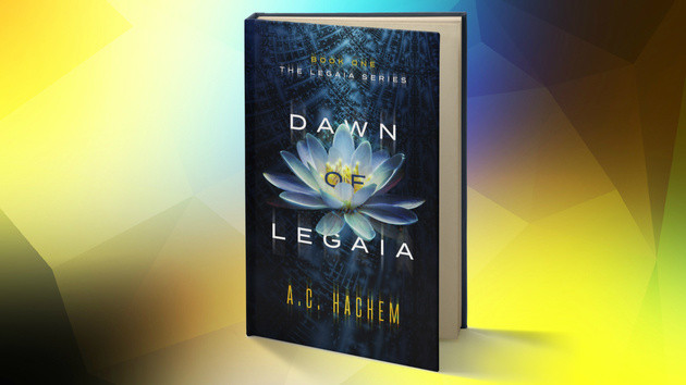 Dawn of Legaia Cover Art Reveal - Book One of The Legaia Series.