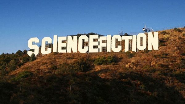 Science Fiction Hollywood Sign