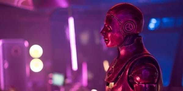 A sci-fi android robot considers its options upon learning the truth.