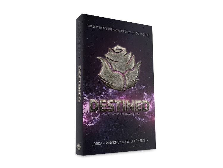 Destined Cover Art: Book One of the Blood Games Trilogy