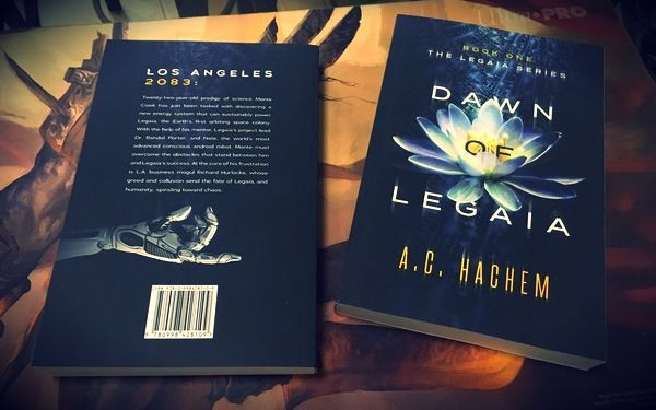 Dawn of Legaia's Back and Front Covers