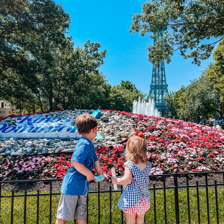 Visiting Kings Dominion with Little Kids