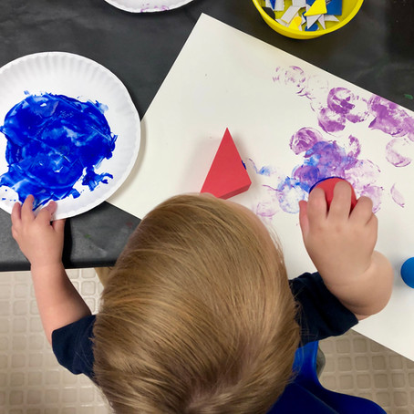Art Class at the VMFA, Tots of Art