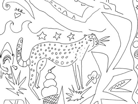 Free Coloring Pages & Art Activities